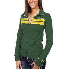 '47 Brand Oakland Athletics Ladies Training Day Track Jacket - Green