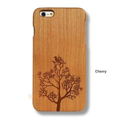 Tree iPhone 6S Plus Case - iPhone 6/6S Plus Solid Total Wood Case - ADTRE0114