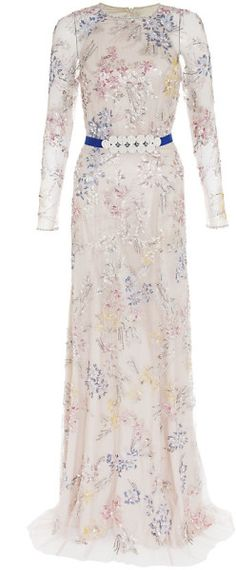 Love this: JENNY PACKHAM Embellished Floral Gown @Lyst