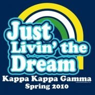 Kappa Kappa Gammas are always living the dream!