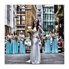 Happy CB bride Vicky  wearing Aubrey Top and Payton #charliebrear #bride #sunflower love Image @jonmold via @team_glam