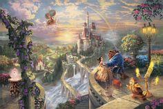 Pinturas de cenas da Disney