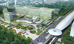 Changi Business Park - just 1 MRT stop from The Glades at Tanah Merah