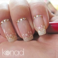 Gorgeous Konad design.