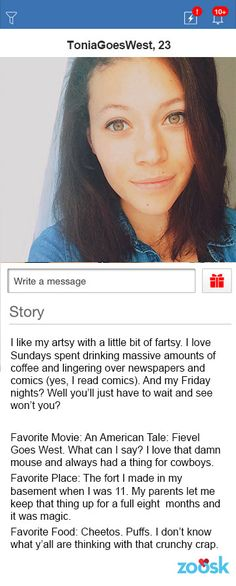 awesome female dating profiles
