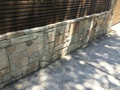 Stack stone no grout