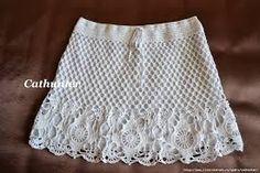 Resultado de imagen de faldas crochet