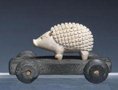 Ancient Asian Ivory Hedgehog -Louvre Museum - Paris.