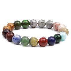 Alloy Fashion Geometric bracelet(8mm glossy) NHYL0214-8mm-glossy