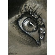 I am obsessed with eyes! Love this one