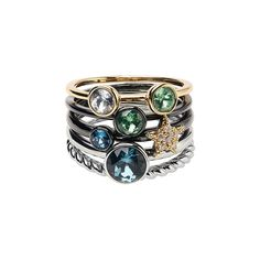 Scatter the sparkle or stack for a statement with the Stellar-Riffic Ring Stack