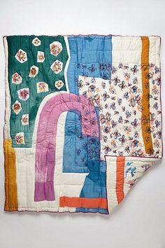 Modern quilt - For the Home - Textiles, Textile Patterns, Textile Art, Fabric Art, Fabric Crafts, Boro, Matilda, Fiber Art, Needlework