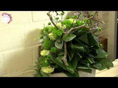 Bloemschikken in de Lente - LenteSpecial - door Nelleke Bontje - YouTube