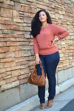 Fashionista: Gorgeous Street Style:Plus Style