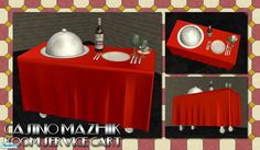 BeOSBoxBoy's Room Service Cart International Man Of Mystery, Mesh Tool, Hotel Motel, Sims Community, Sims Resource, All Holidays, Electronic Art, Sims 4, Mysterious