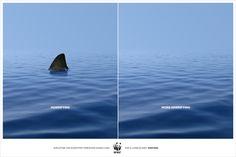Outdoor Campaign - WWF by Ali Bati, via Behance