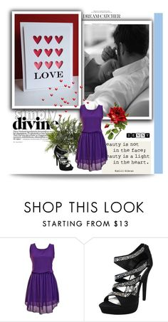 """""""love"""" by smile2528 ❤ liked on Polyvore featuring Nearly Natural"""