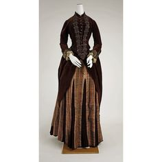What She Wore to the Gilded Age 1880-1901 via Polyvore