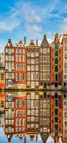 Amsterdam Reflection, North Holland, Netherlands #architecture #visitholland