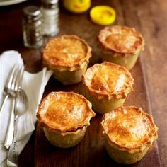 Beef and ale raised pies recipe. These may take a while to prepare but they really are the most divine pies: authentic, meaty, with truly perfect pastry.