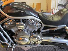 Used 2006 Harley-Davidson V-Rod Motorcycles For Sale in Texas,TX. 2006 Harley-Davidson V-Rod, NADA YELLOW BOOK RETAIL $8,825 2006 Harley-Davidson V-Rod - VRSCA - LOW 5,877 MILES!!! - Harley Factory Paint Vivid Blackl - 69 Cu Inches/1,130 CC Liquid Cooled Revolution Engine Produces 115 HP - Sweeping Factory Chrome Exhaust System - 5 Speed Transmission - Forward Controls - Smooth Disc Cast Aluminum Wheels - Hydro Formed Frame - Added Passenger Backrest - Added Custom Upholstered Seat - Low 26…