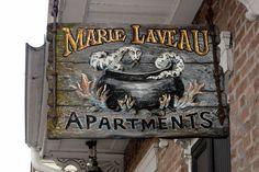 Marie Laveau Apartments, French Quarter photo by Wally Gobetz