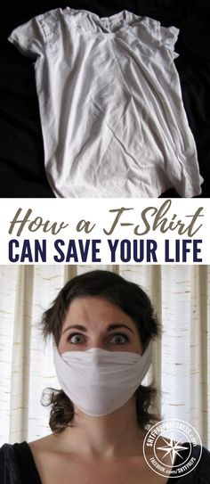 How a T-Shirt Can Save Your Life — One disaster that is difficult to prepare for is a volcanic eruption. Even if you're several miles away, you're not safe from the thick cloud of volcanic ash the gets pumped into the air.