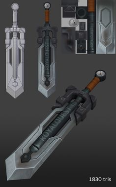 23 swords - Page 3 - Polycount Forum