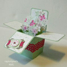Card in a box