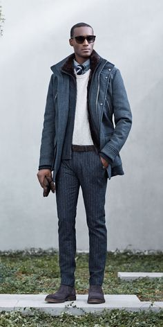 Hugo Boss Champions Casual Outfits for Fall/Winter 2014