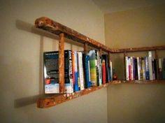 Leiter-Bücherregal, ladder