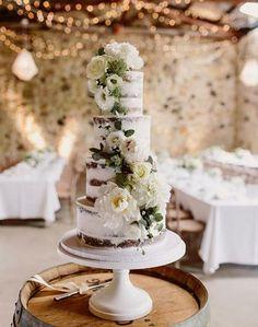 Die schönsten Naked Cakes für eure Hochzeit