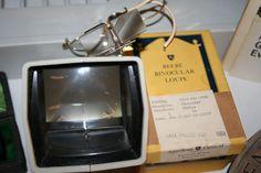 #vintage magnifiers.