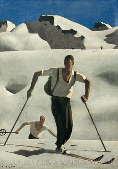 Tempera, Museum, Whistler, Drawing People, Skiing, Literature, Wall Decor, Artist, Figure Drawings