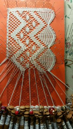 Bobbin Lacemaking, Bobbin Lace Patterns, Needle Lace, Lace Making, Antique Lace, Tatting, Needlework, Projects To Try, Hobbies