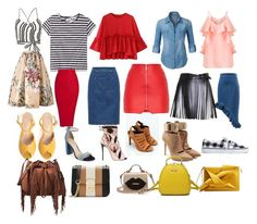 base_2 by leto04 on Polyvore featuring мода, Alice + Olivia, Miss Selfridge, Cheap Monday, LE3NO, Fendi, Alaïa, Giuseppe Zanotti, Puma and Kendall + Kylie