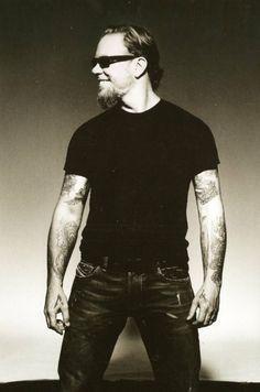 James Hetfield; unable to locate photog credit