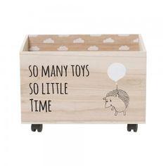 Skrzynia na zabawki z jeżykiem - Bloomingville