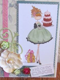 Bring on the Cake by ktownon - Cards and Paper Crafts at Splitcoaststampers