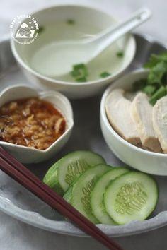 Bangkok Chicken Rice Plate ( Khao Man Gai )