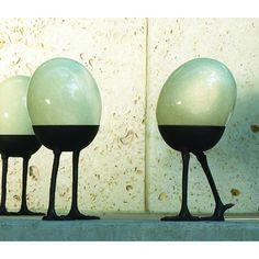 Ostrich Egg Stand $198.00