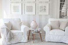 Olohuoneen ihana uusi tyyli ilman sohvaa