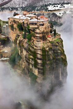 Varlaam monastery in Meteora #greece #travel #beautiful #mustsee