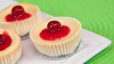 [Minicheesecake Clásico con Cerezas] Gourmet Cheesecakes. Pedidos al (505) 83624340. #cheesecake #cheesecakes #cereza #cherry #delicious #deleite #gourmetcheesecakes #gcheesecakes #nicaragua #deleitedeprincipioafin