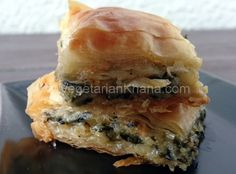 Spanakopita is a type of spinach pie made with filo/phyllo pastry, spinach, and feta cheese. Crispy phyllo pastry with melt in mouth spinach filling is one of the best Greek dishes I have tasted. Being a vegetarian in a foreign country can be a tough thing but you also get to try vegetarian dishes from …