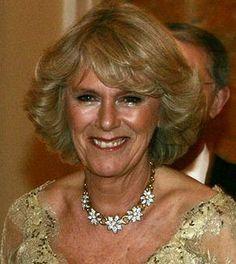 Camilla's Floral Diamond Necklace