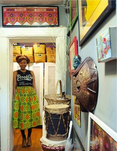 Name: Natasha R. Johnson Location: Bedford-Stuyvesant; Brooklyn, New York Size: Approximately 500 square feet Years lived in: 1.5 years; Rented With no extra space to spare, Natasha was both deliberate and maximal in organizing the decorative and essential elements of her studio apartment. In the 35+ countries that she has lived and/or worked in as a college professor and international human rights attorney, she has assembled her fair share of global keepsakes. Despite the small footprint of…