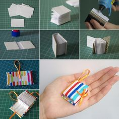 Craft This Cute and Easy Notebook Key Chain - http://www.amazinginteriordesign.com/craft-cute-easy-notebook-key-chain/