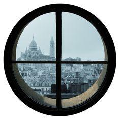 oeil de boeuf. - bulls' eye window