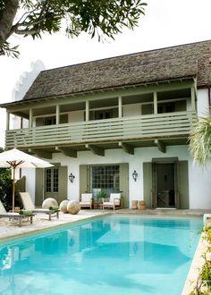 upper deck + green + pool | melanie turner • rosemary beach